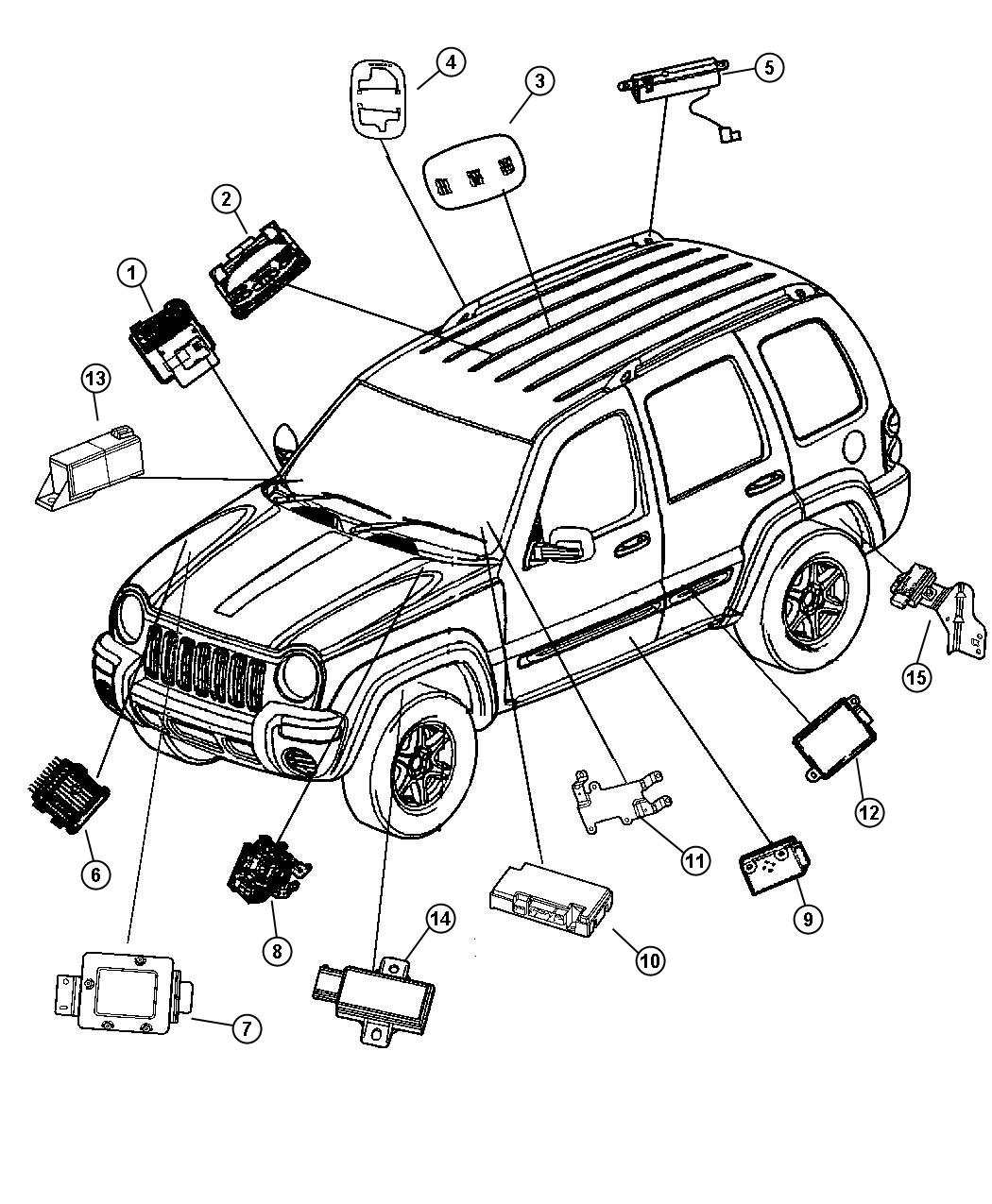 jeep liberty electrical diagram shifter  jeep  auto wiring