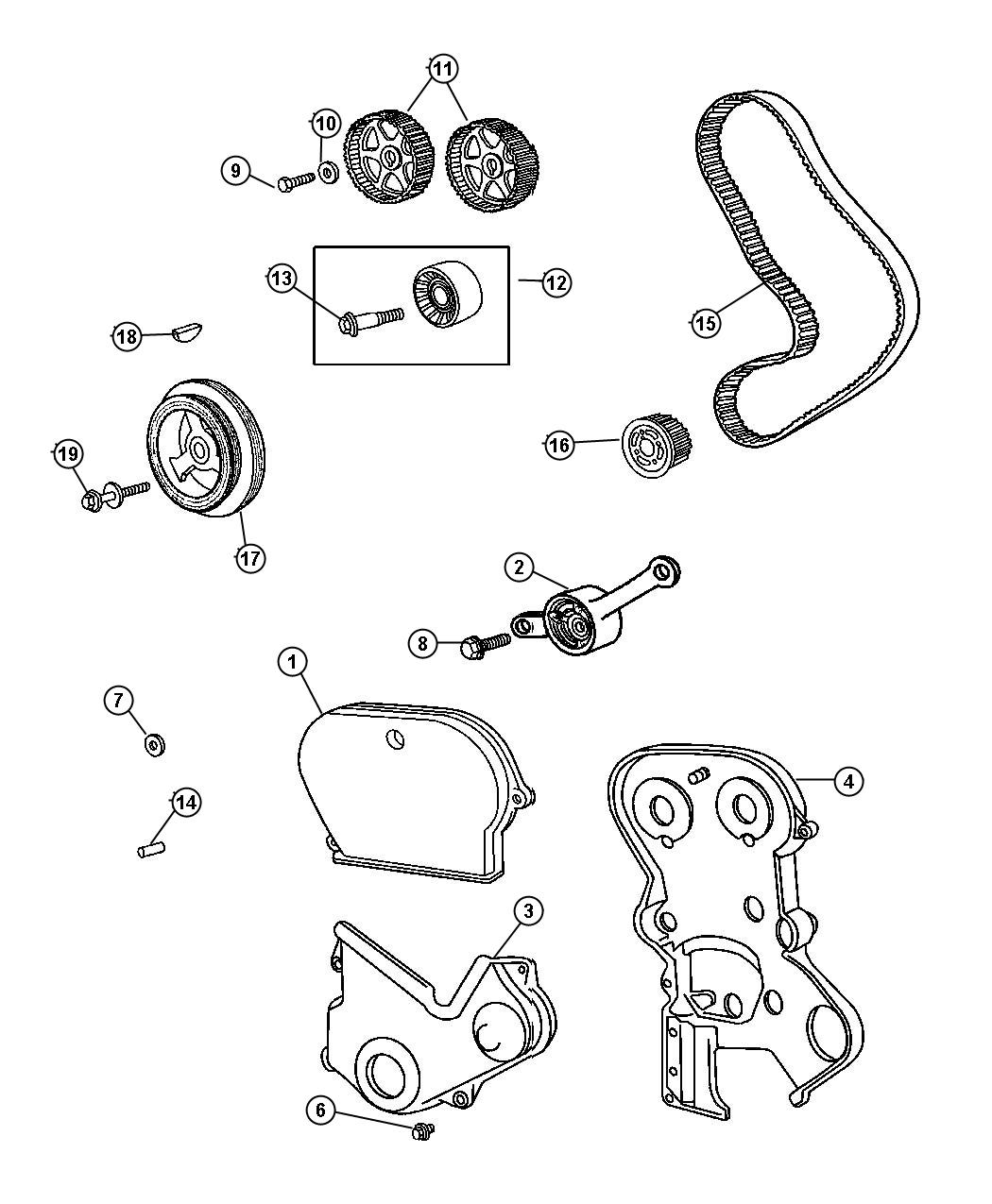 2006 Chrysler Pt Cruiser Timing Cover Gasket Replacement on 2002 oldsmobile intrigue service manual