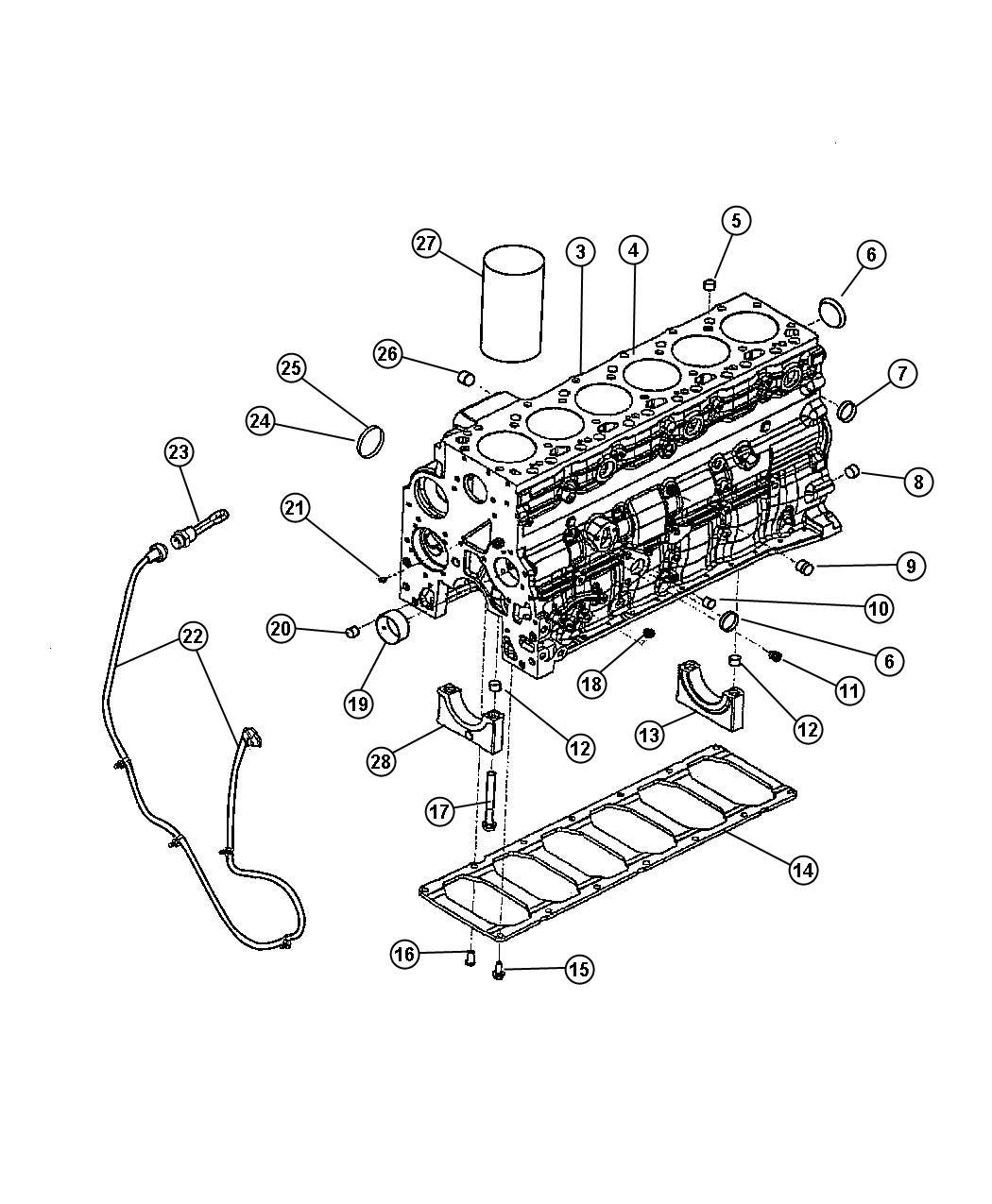 Dodge Ram 2500 Engine  Complete  Remanufactured