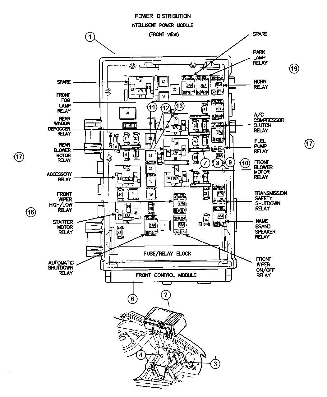 ShowAssembly on vw routan fuse box diagram