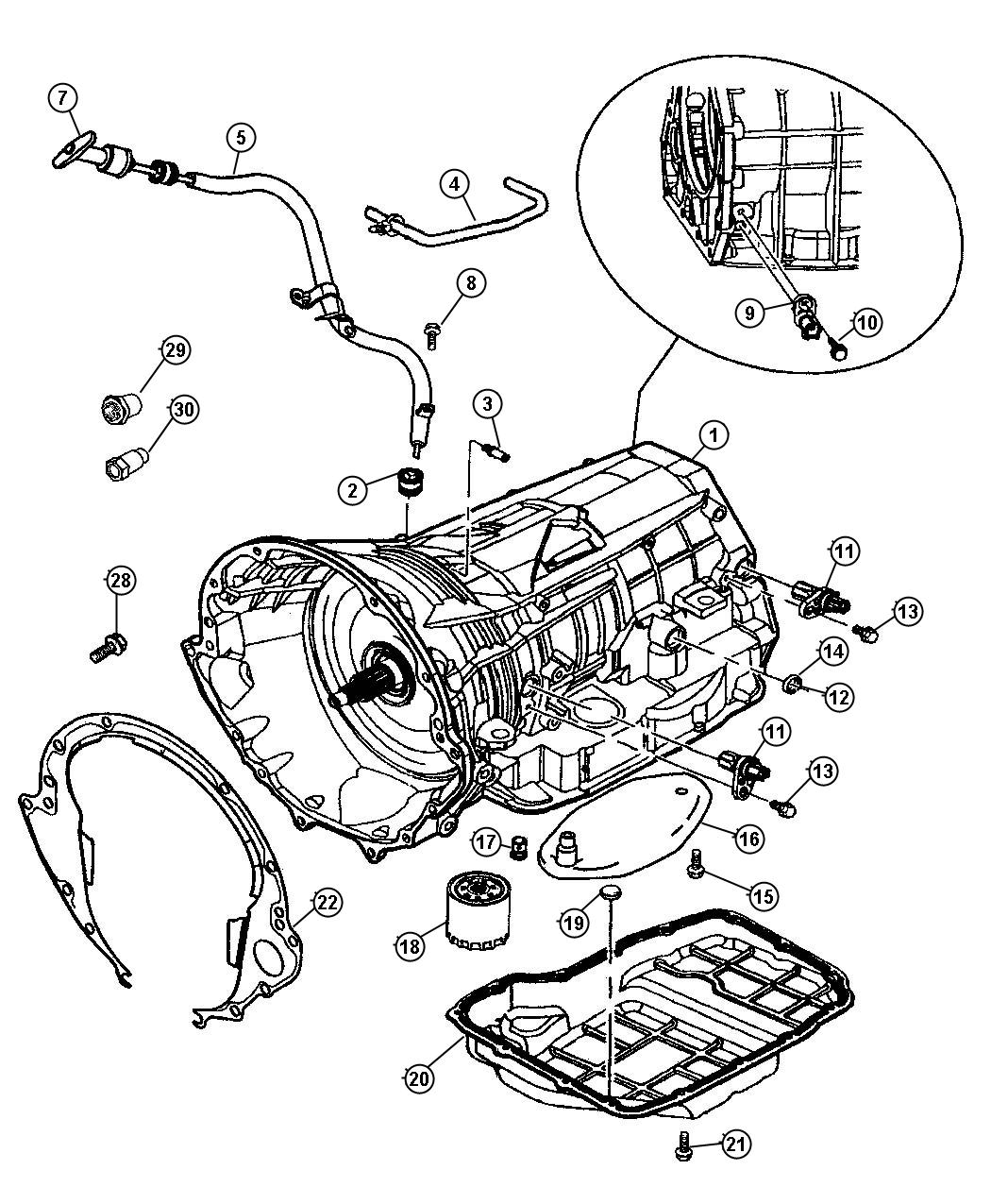 dodge 904 transmission diagram