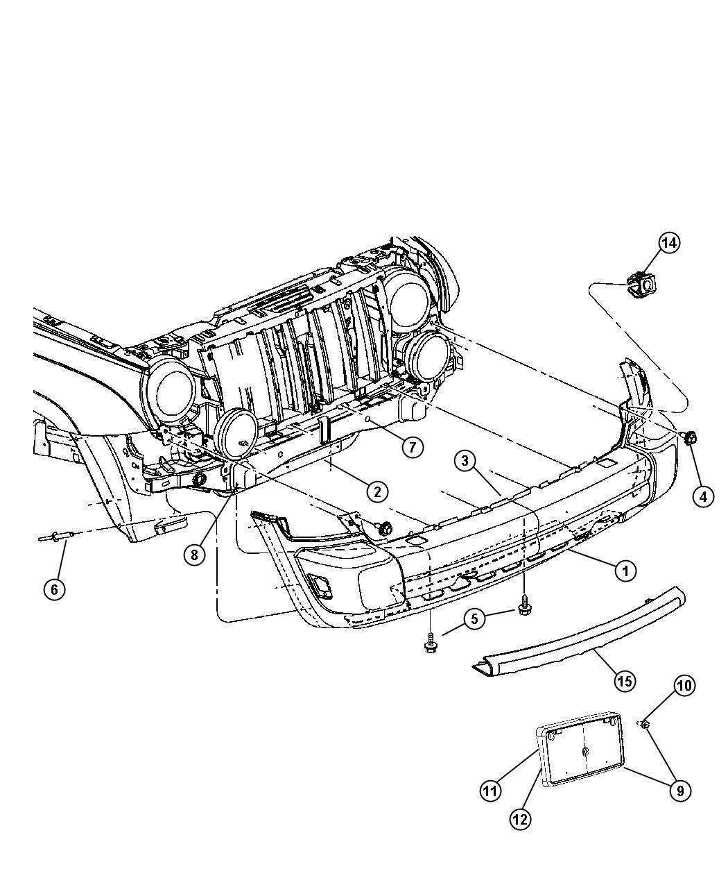 2007 jeep patriot front suspension diagram