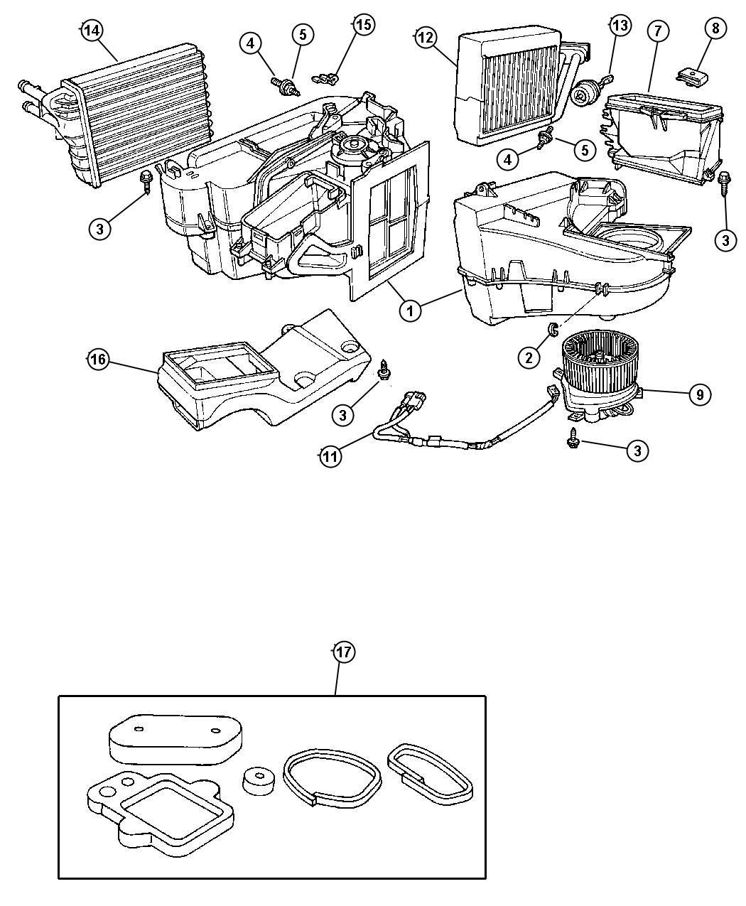 32 Pt Cruiser Air Conditioning Diagram