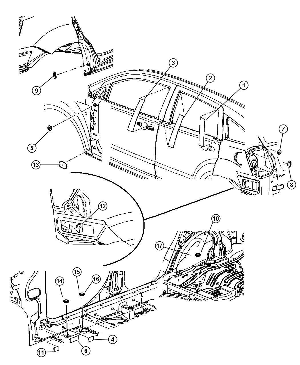 parts diagram 2007 dodge caliber sxt
