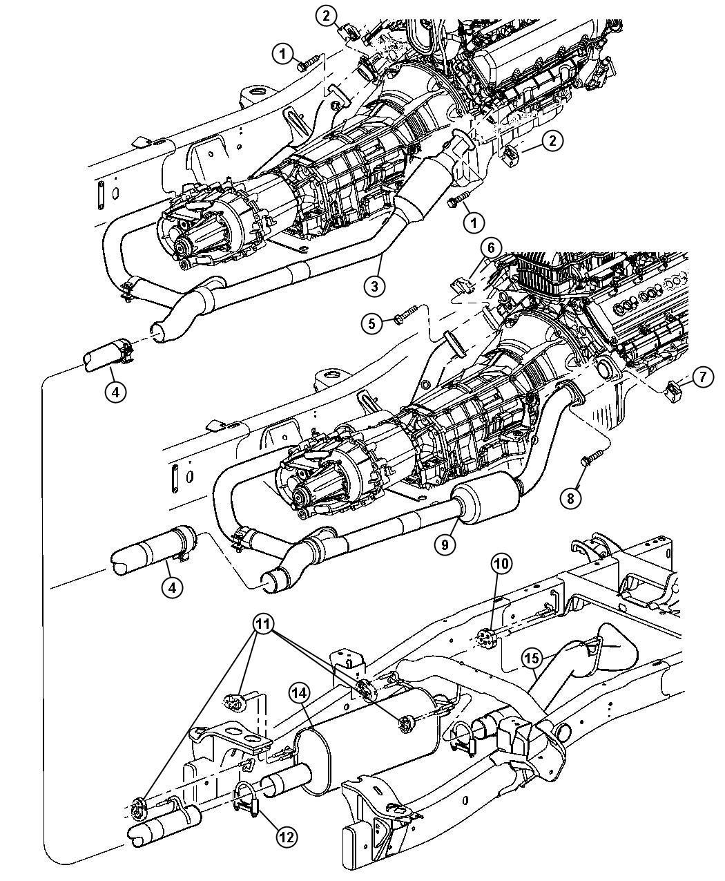 manifold to intermediate pipe - dodge ram forum