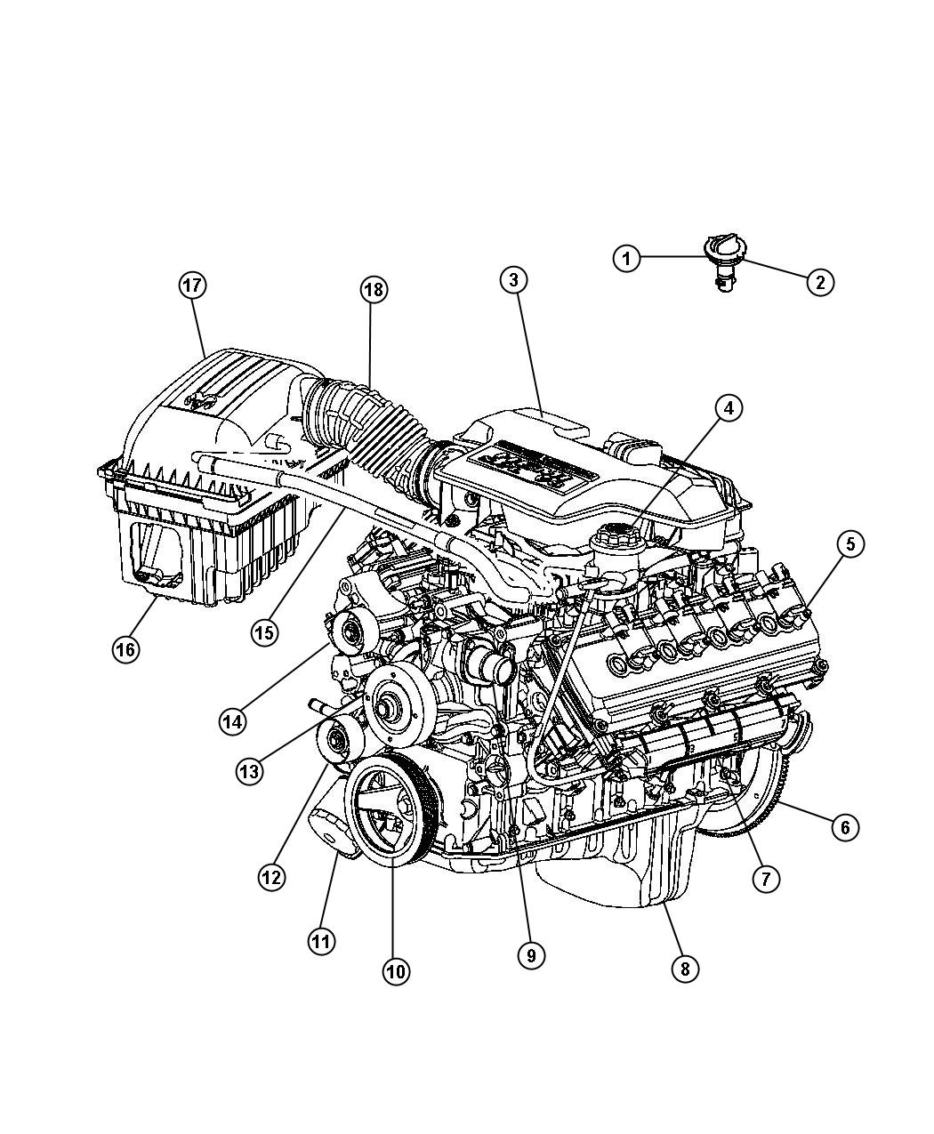 2003 dodge ram 5 7 hemi engine diagram