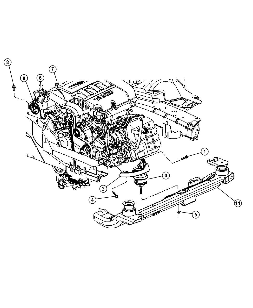 diagram  2004 chrysler pacifica engine diagram full