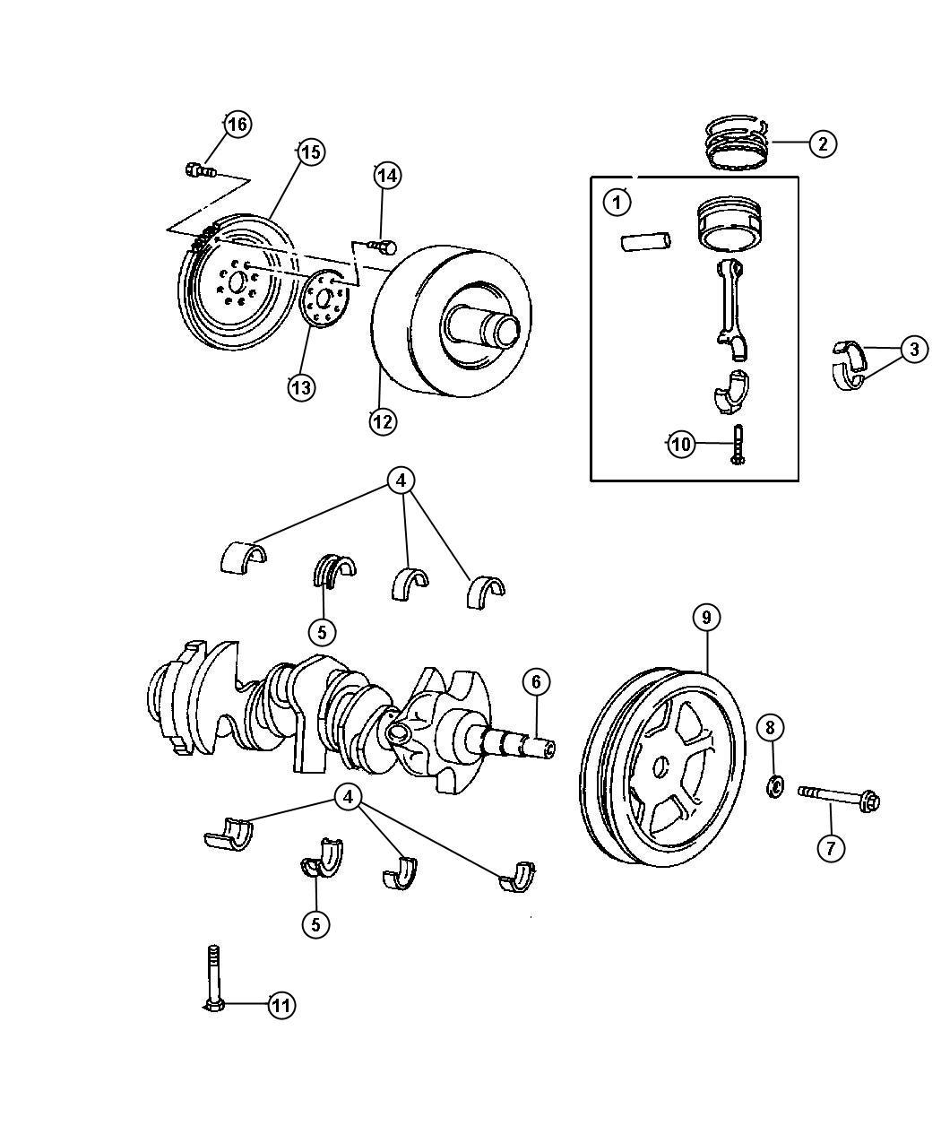 dodge grand caravan flexplate  plate  automatic transmission  torque converter drive