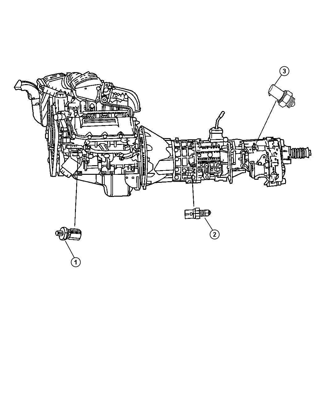 Dodge Ram 3500 Range Sensor  Switch  Neutral Start