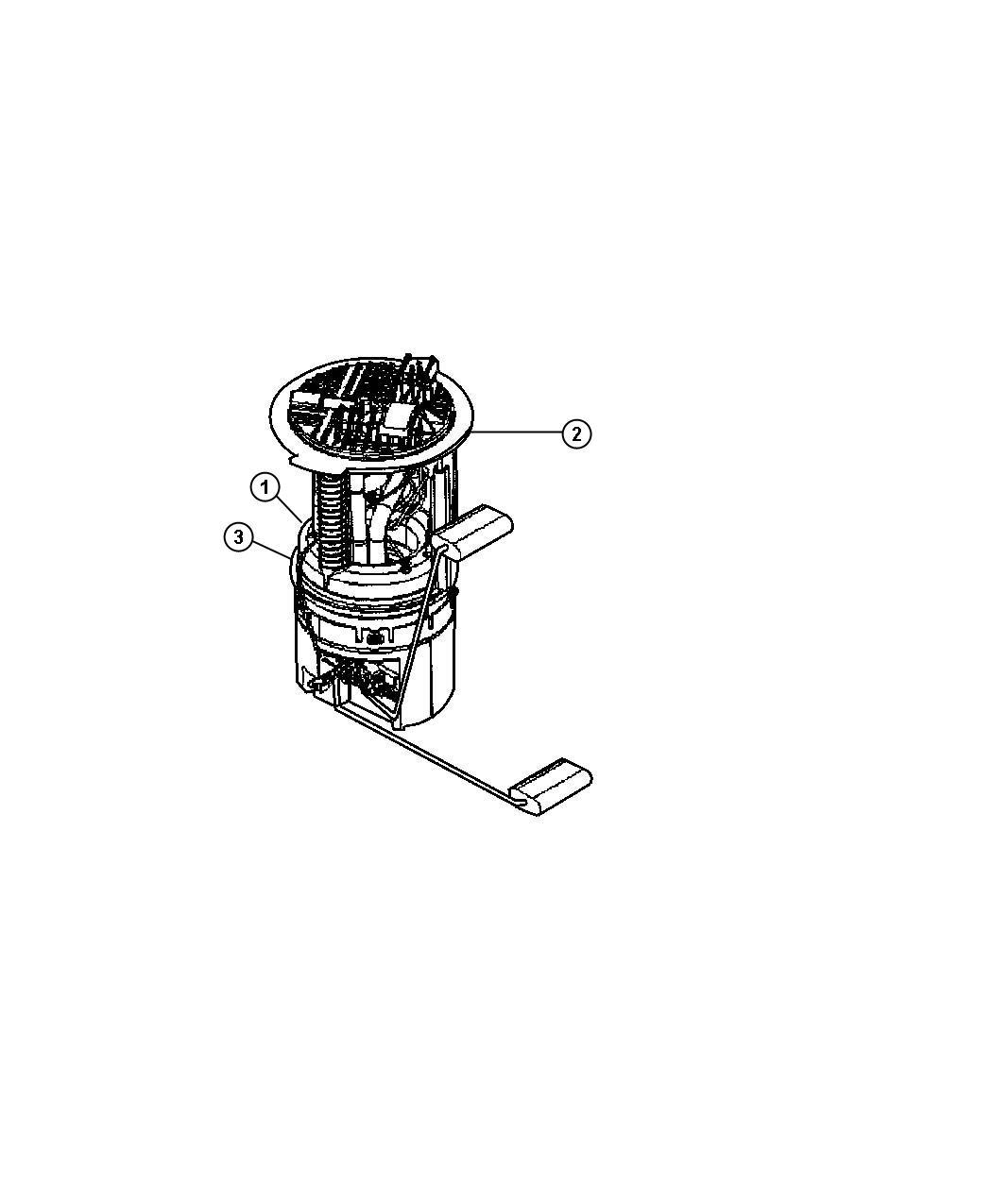 Rl175039ac - Mopar Module  Fuel Tank