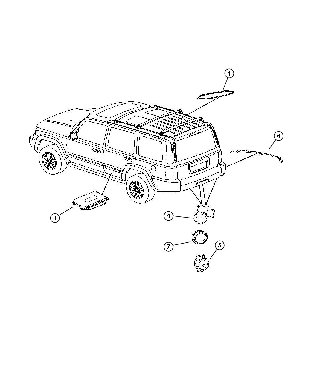 2007 2015 jeep oem parts diagram  2007  free engine image