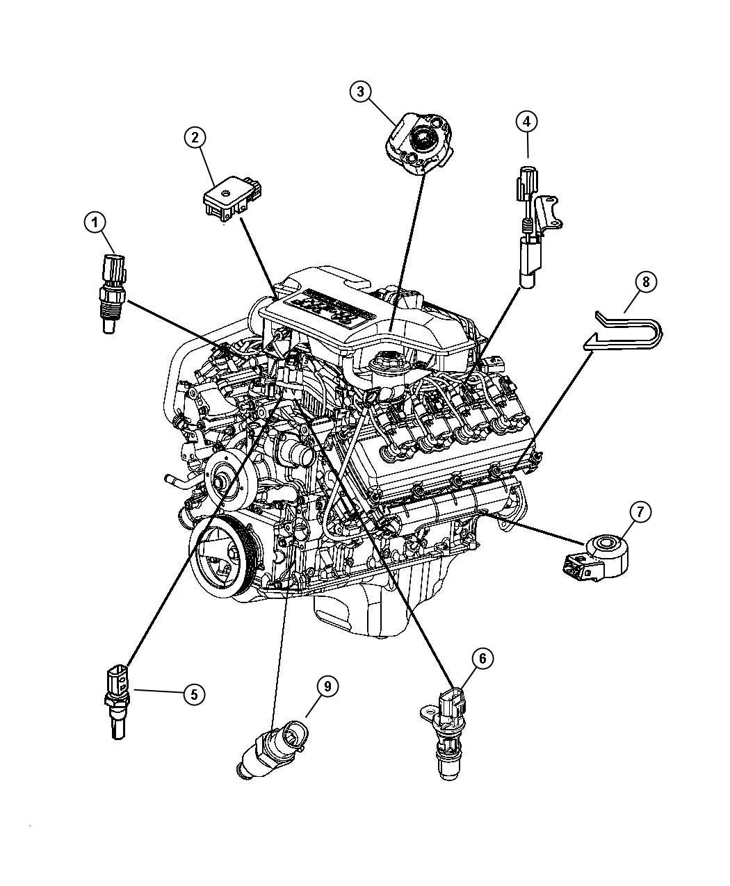 5 7l Chevy Engine Parts Diagram 5 Free Engine Image For