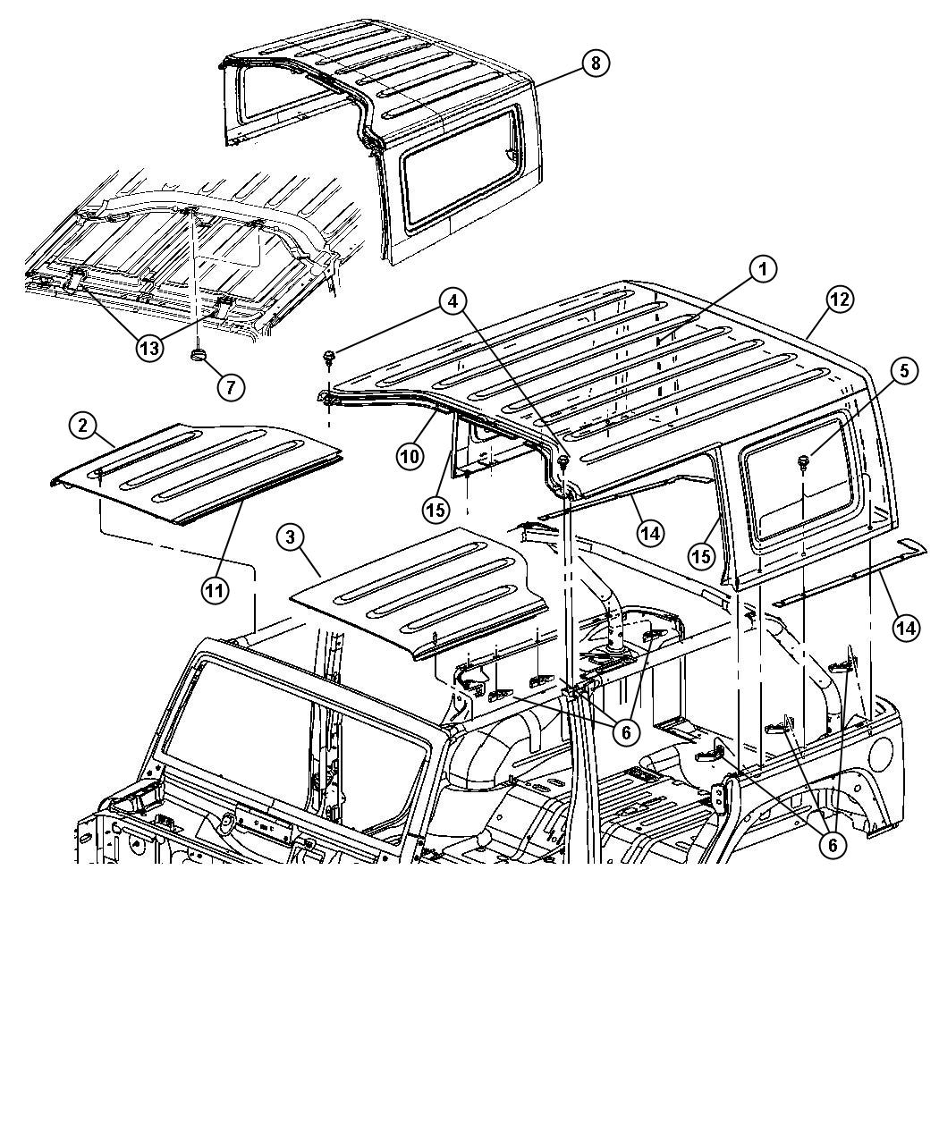 55175816AC moreover Product detail as well Rugged Ridge 13516 10 Soft Top And Exo Top Header Kit besides 77A6719A3818144 additionally ShowAssembly. on jeep wrangler hardtop cart
