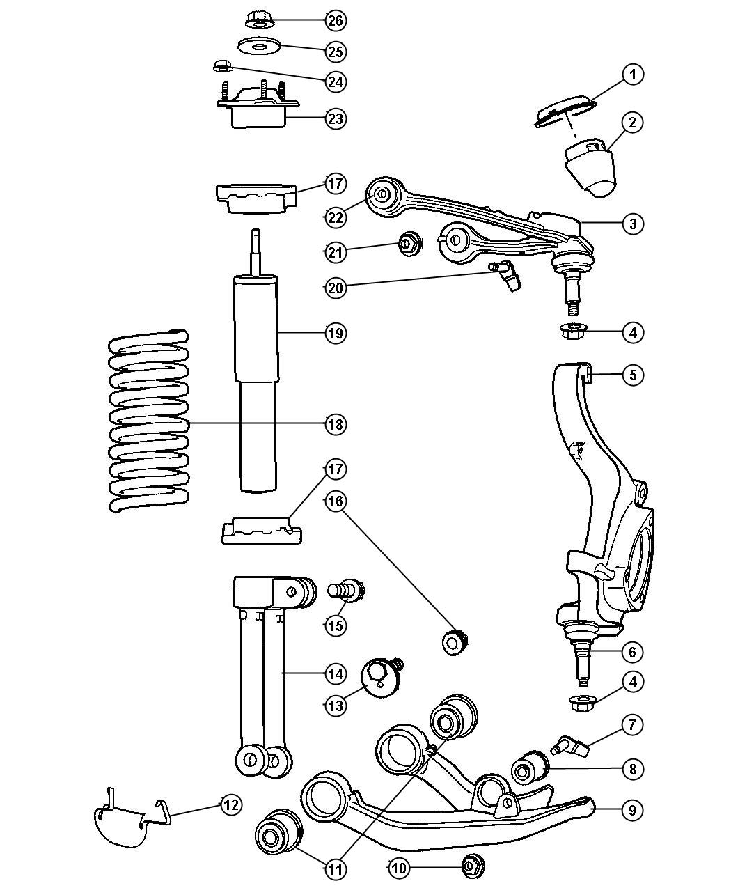 420312577704802664 in addition Front Suspension as well 2003 Jeep Liberty Front Bumper Diagram together with 443668 Suspension Torque Specs Bushing Reset Info Look Here First moreover 2845909 Help Me Replace Side Yoke Seals Please. on nissan control arm schematics