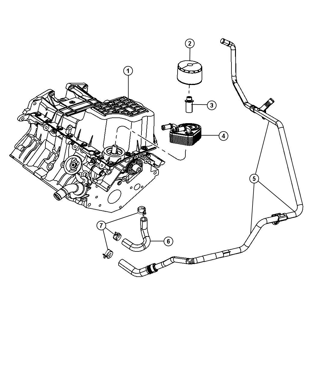 34940 Relais De Ventilateur Basse Vitesse Pour Chrysler Pt Cruiser 22l Crd 4727370aa 00BYK as well Chrysler 300m Engine Oil Filter Location also 3 8 Buick Cooling System Diagram likewise Chrysler 300 A C  pressor Location besides Chrysler 200 Ac Drain Hose Location. on 2006 chrysler town and country thermostat location