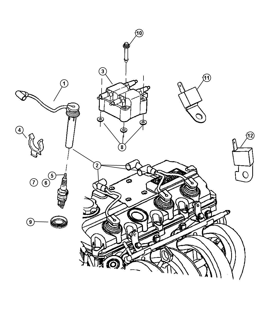 Pt Cruiser 2 4l Engine Parts Diagram Wiring Diagrams 2006 Free 2004 Chrysler