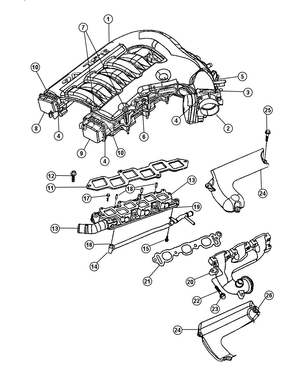 chrysler 3 5 dohc engine diagram  chrysler  get free image