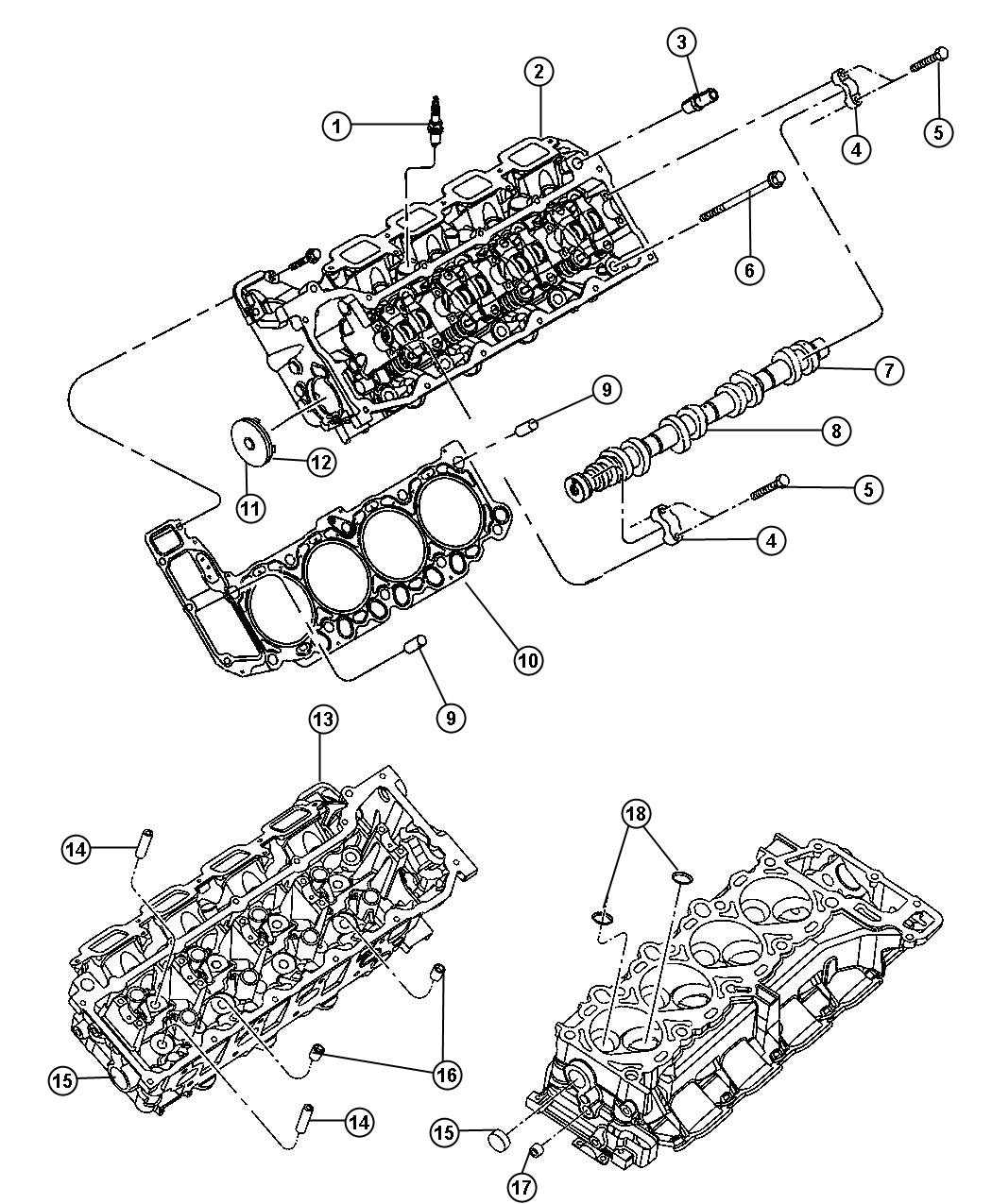 68303918AA - Jeep Spark Plug. Suggested