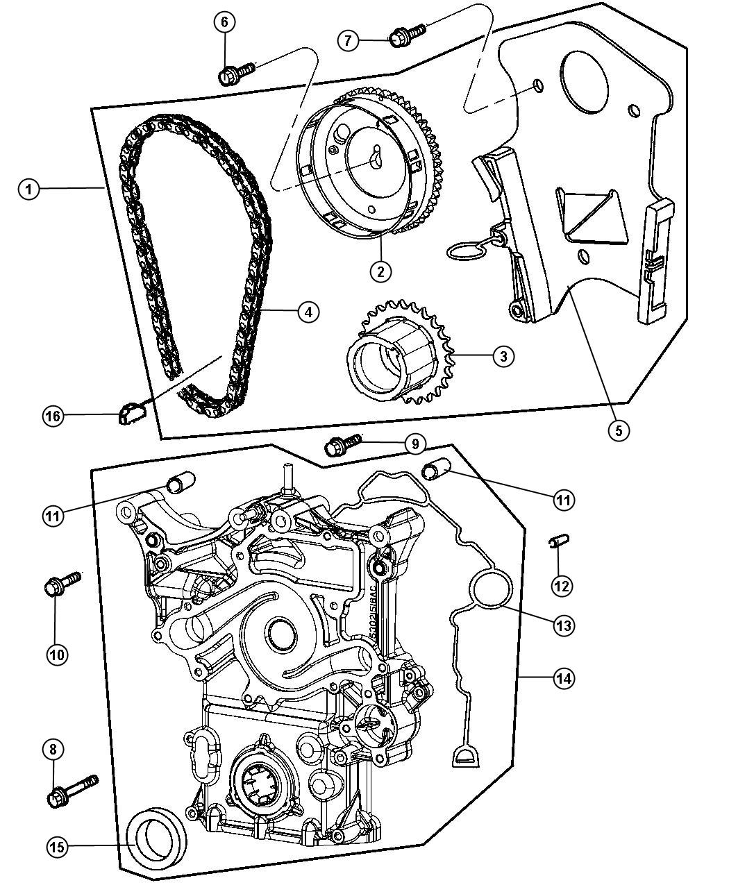 service manual  2007 chrysler aspen timing chain