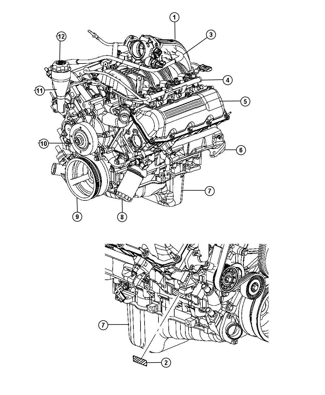 Dodge Dakota Rail. Fuel - 53031102AB | Factory Chrysler ...