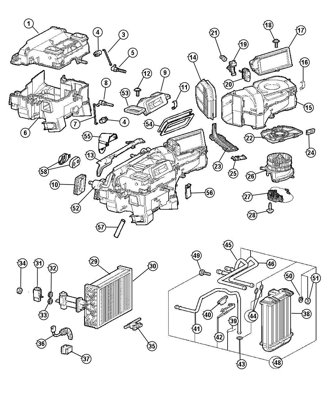 2000 mazda mpv exhaust diagram