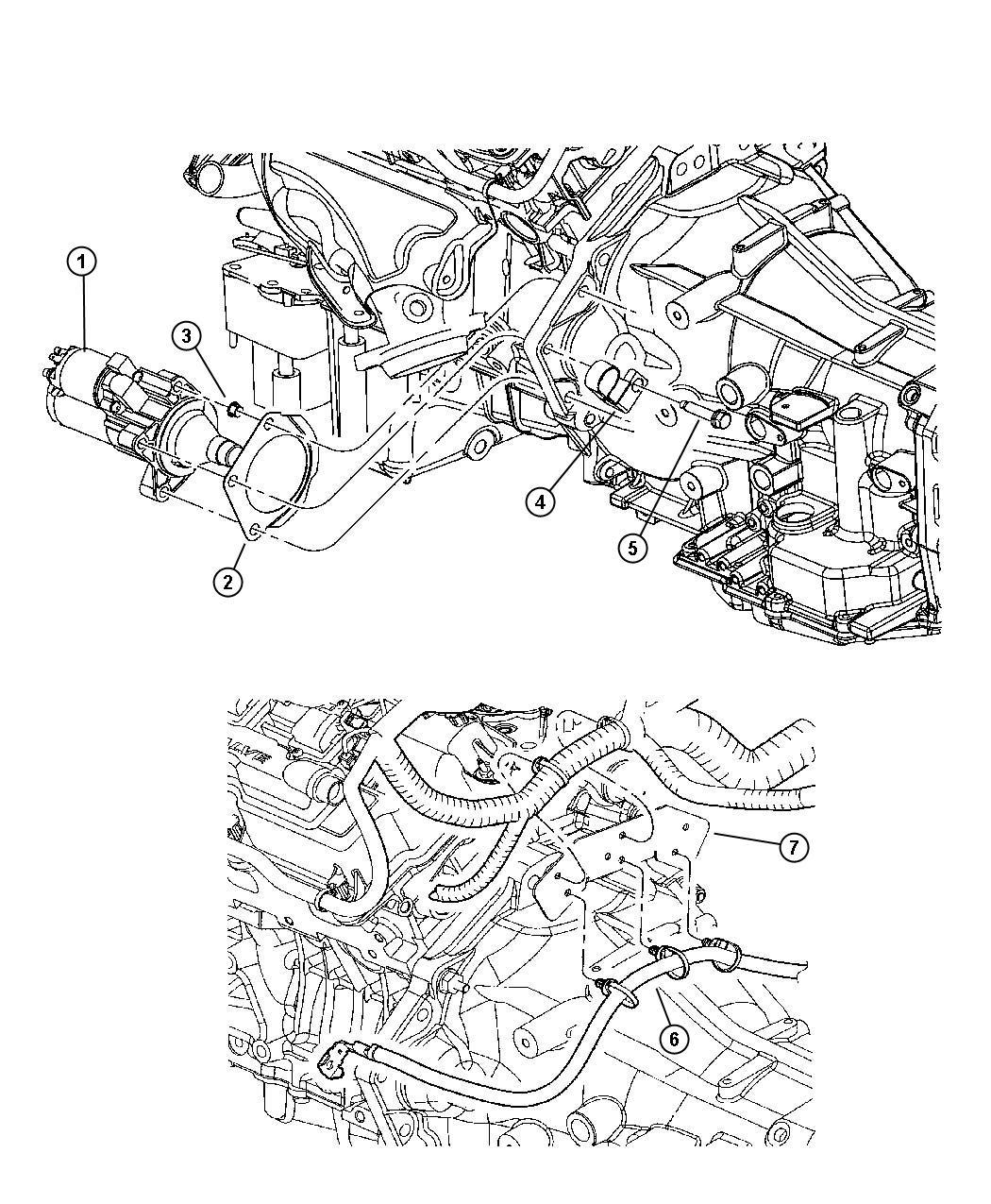 2008 Chrysler 300 Starter  Engine  After 06  26  2006  Up To
