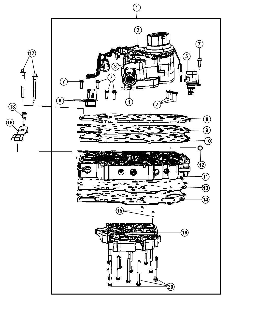 I on 4r100 Transmission Diagram
