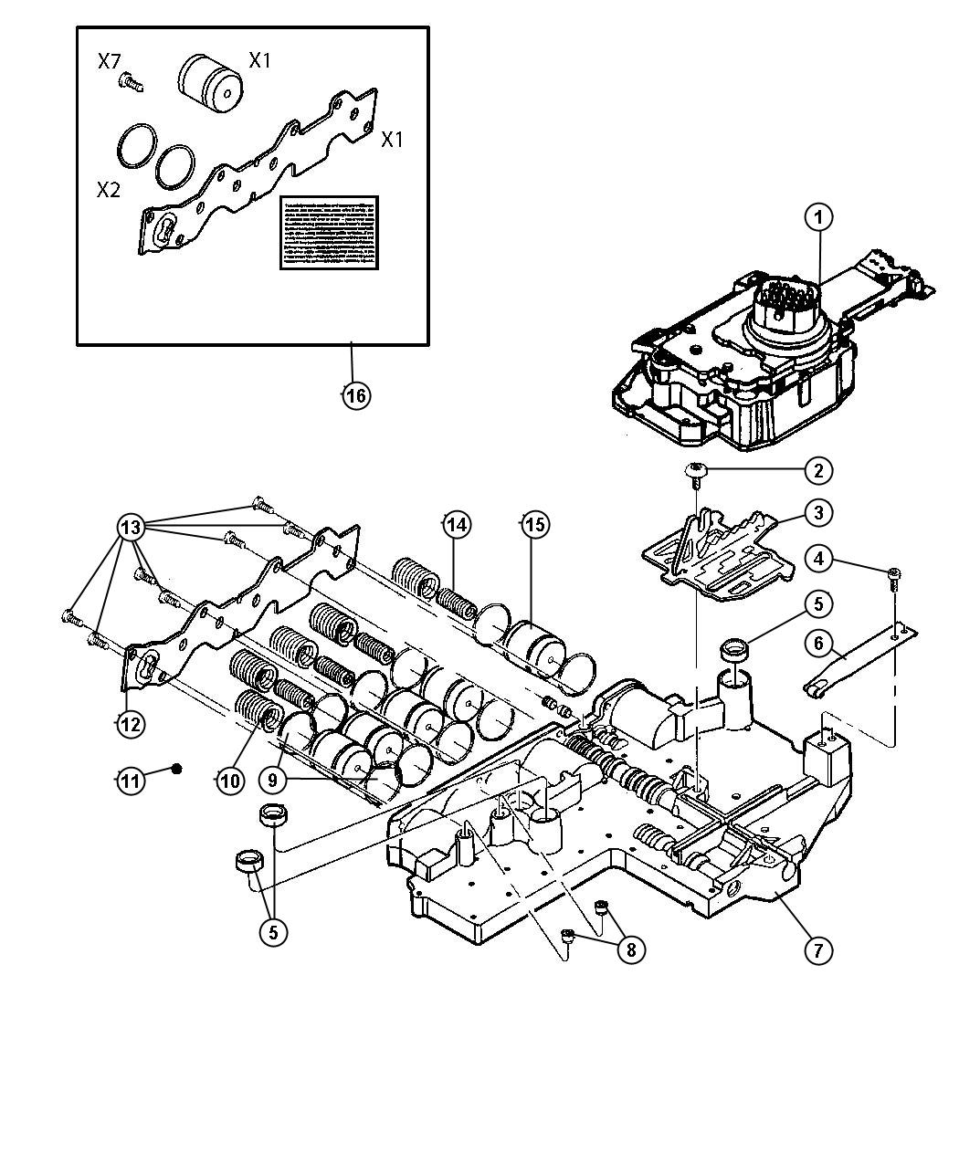 New Genuine Mopar 5170877ac Transmission Solenoid