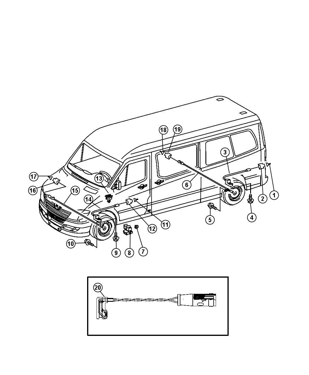 Brake Pad Wear Indicator & Speed Sensor