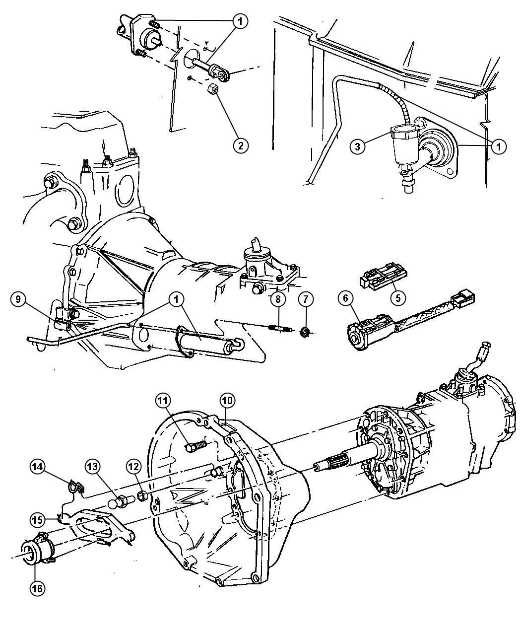 Controls,Hydraulic Clutch. Diagram
