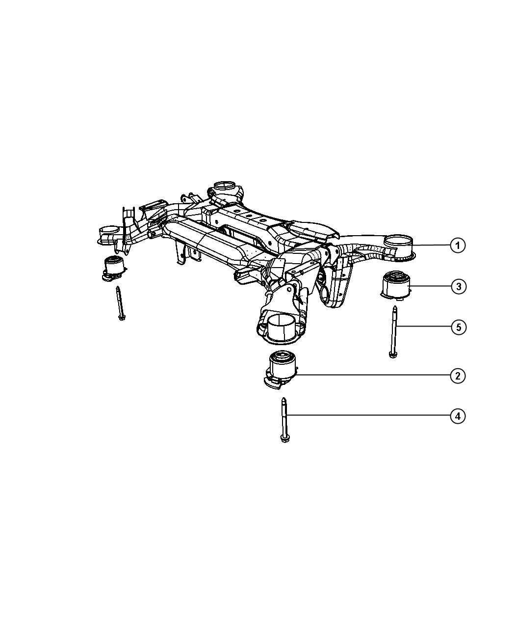cradle crossmember rear suspension fits chrysler pacifica 2008. Cars Review. Best American Auto & Cars Review