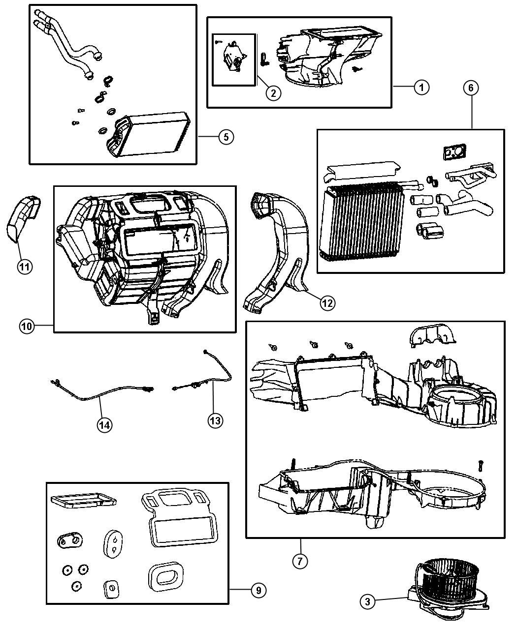 2006 PT Cruiser Air Conditioning Diagram http://www.factorychryslerparts.com/showassembly.aspx?ukey_assembly=583281