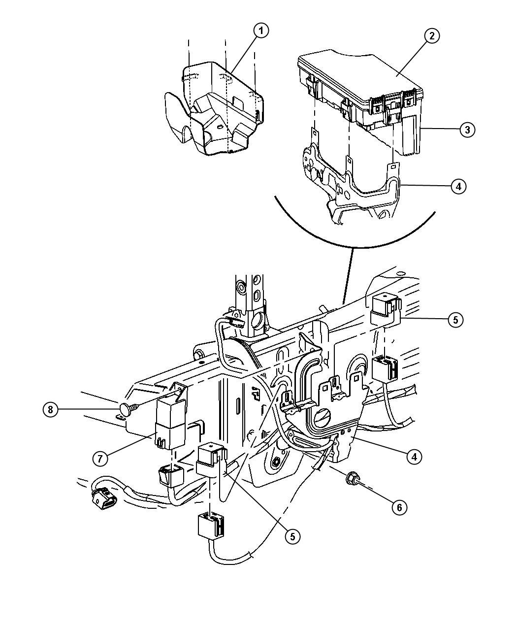 ford falcon wiring diagram ford discover your wiring diagram horn relay location 2008 jeep patriot