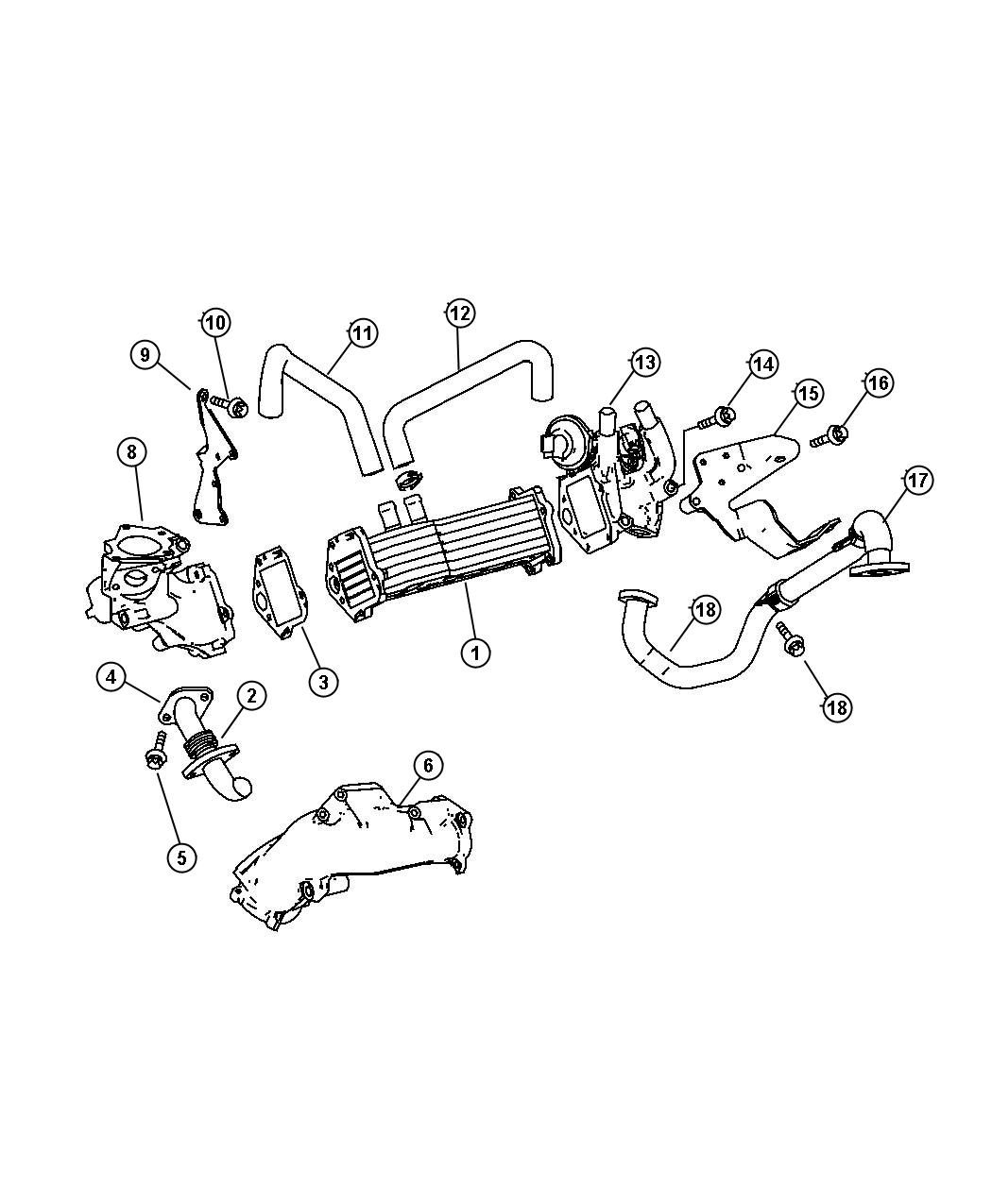 Exhaust Gas Recirculation Cooler