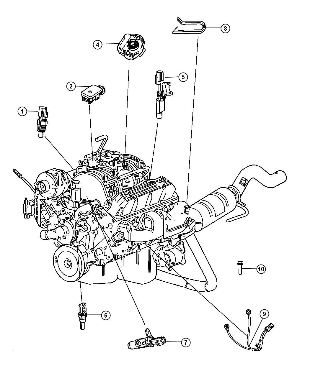 chrysler aspen 2009 engine diagram