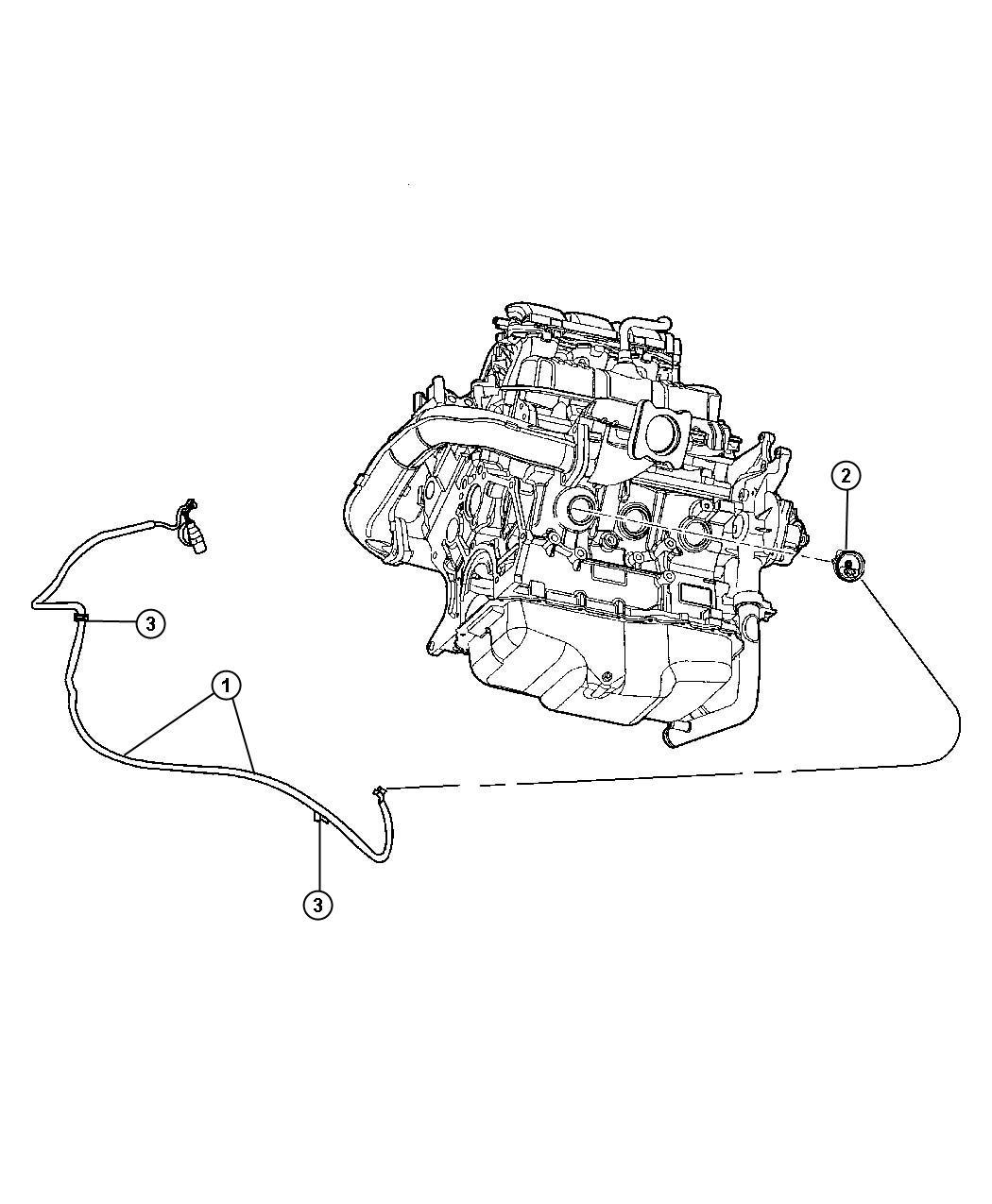 04609550AB  MOPAR Heater    Engine    block Engnie   Factory Chrysler Parts  Bartow Fl