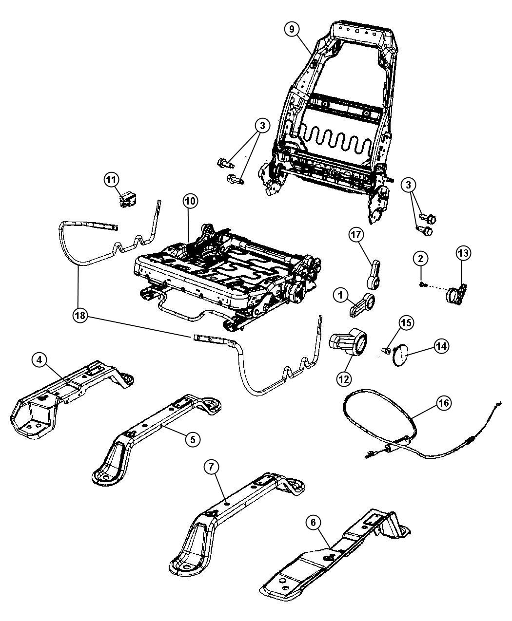 2003 jeep tj belt diagram