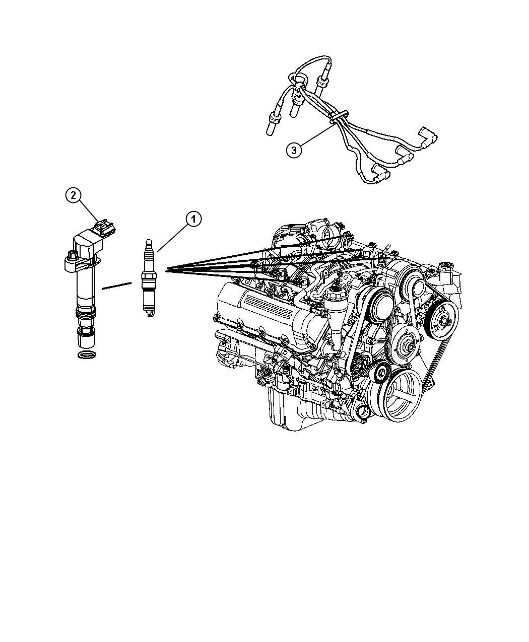 2009 Jeep Liberty Coil  Ignition