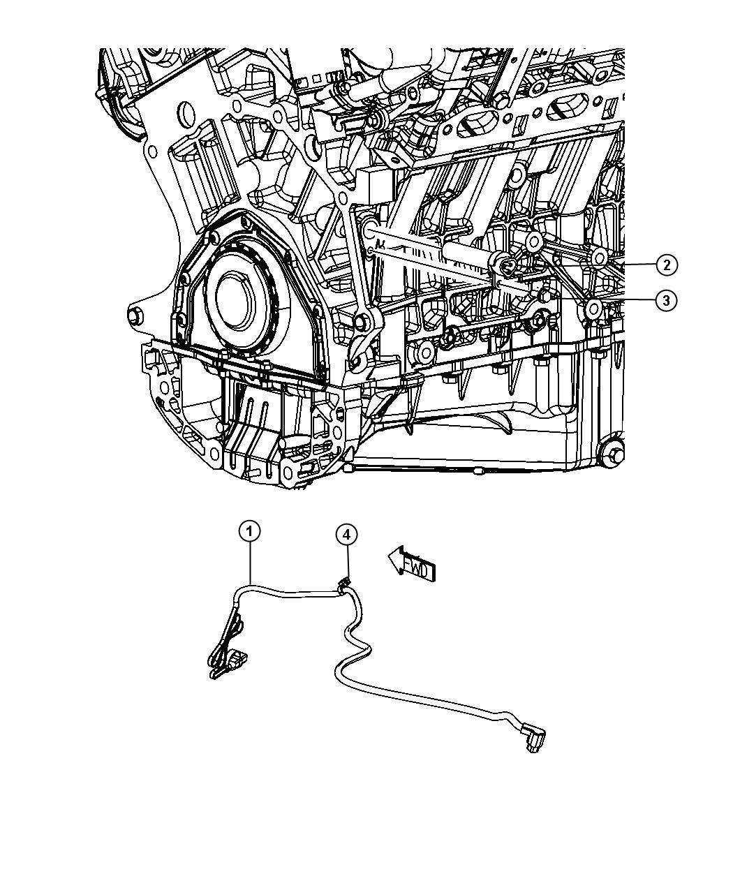 2009       Chrysler       Sebring       Engine    Cylinder Block Heater 35L  3