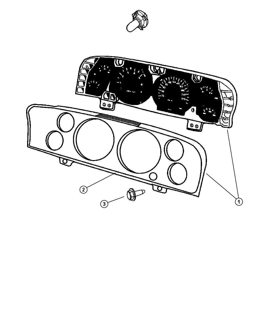 2009 Dodge Ram 2500 Cluster  Instrument Panel   Jay  Jcb