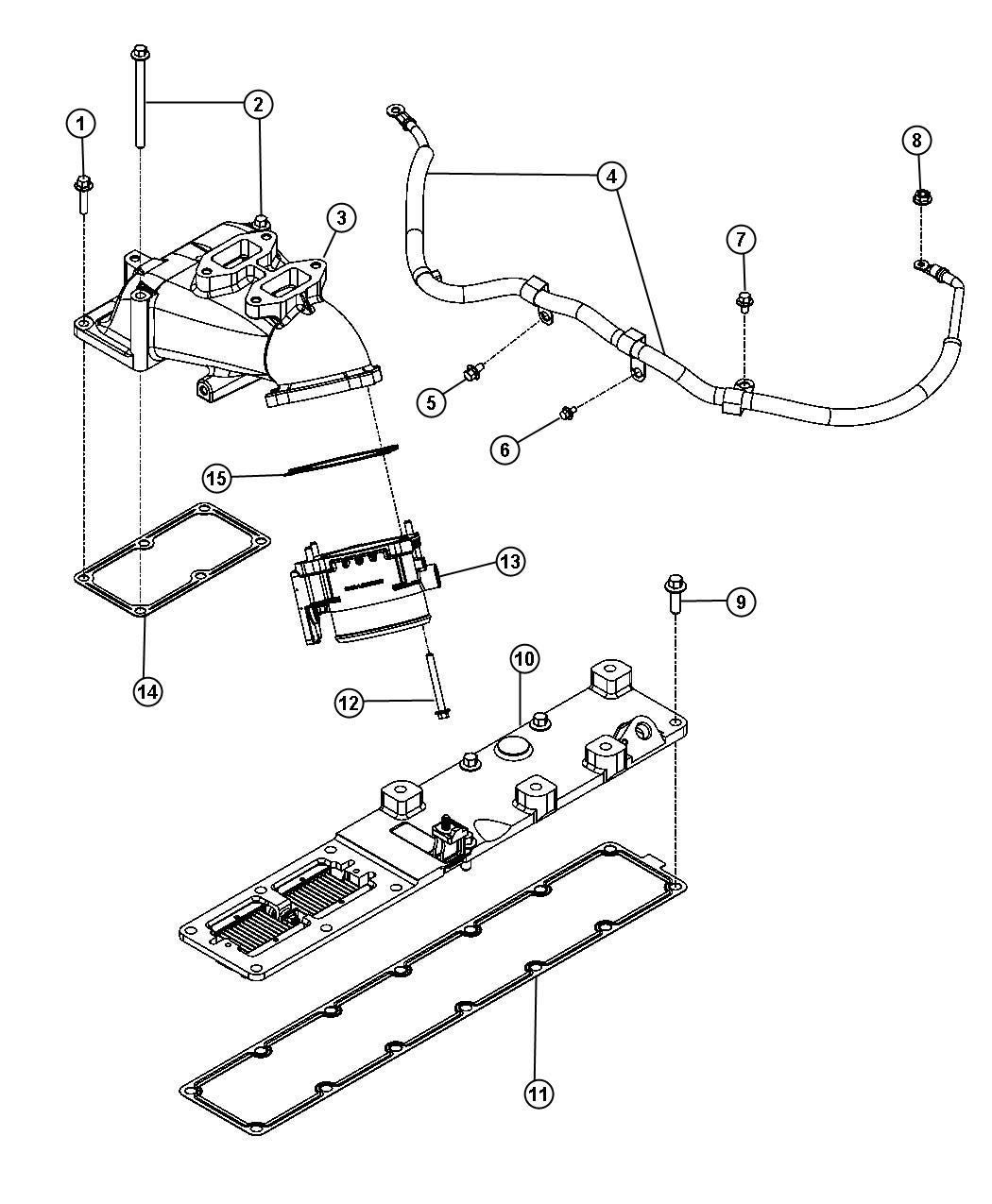 68027034AB  MOPAR    Throttle       body     valve Intake    throttle