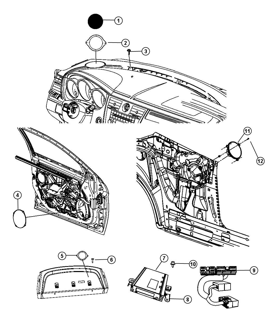 Jeep Grand Cherokee Wiring  Jumper  Amplifier   6 Boston
