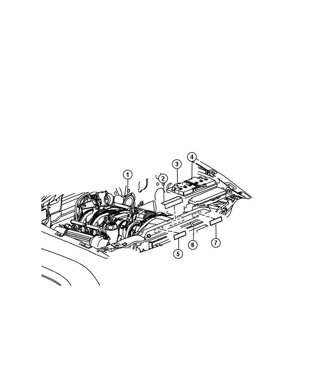 04809615aa mopar label fan caution symbol fascials. Black Bedroom Furniture Sets. Home Design Ideas