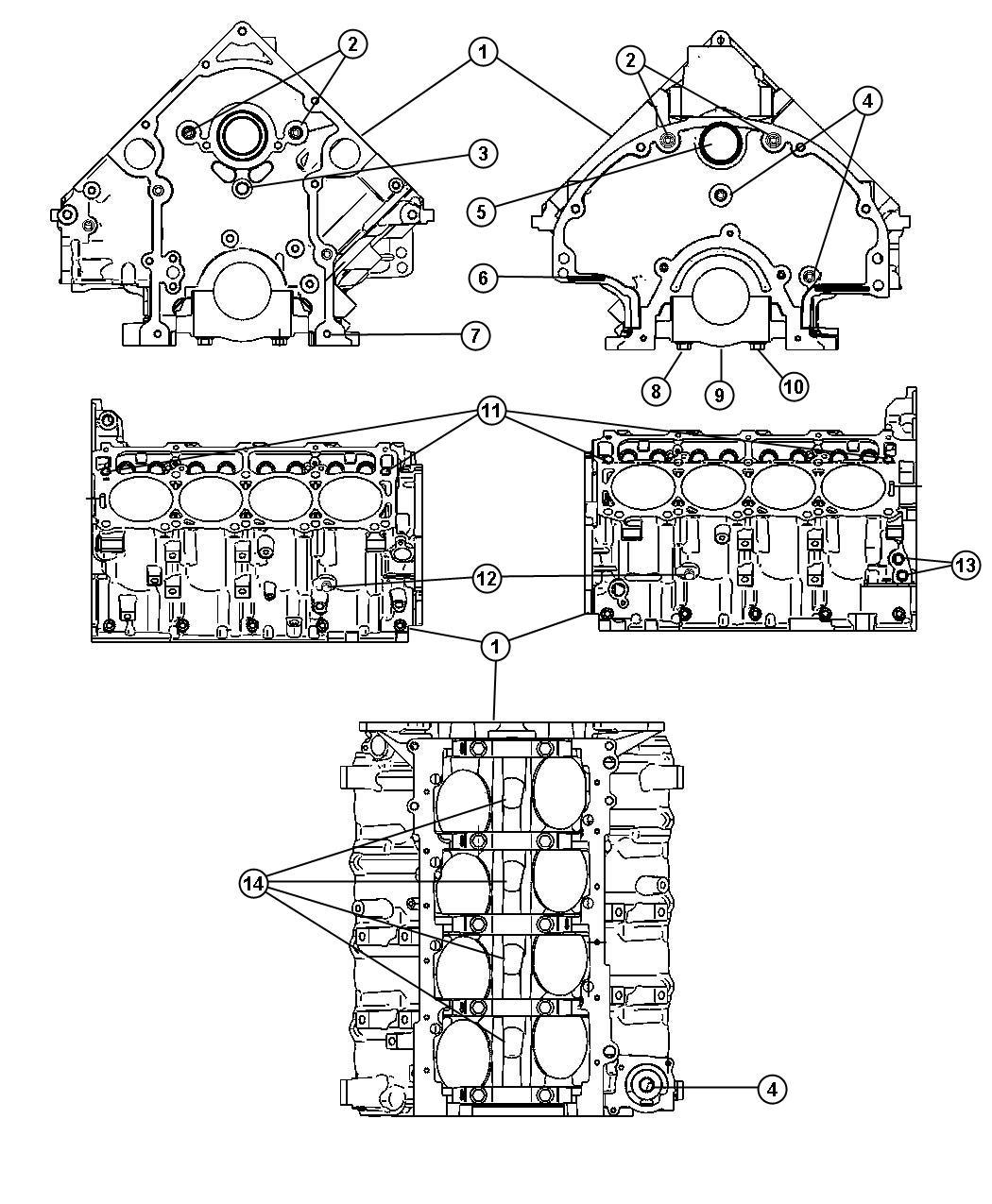 Jeep Grand Cherokee Plug  Cylinder Block  Mds Solenoid  Soleniod  Displacment