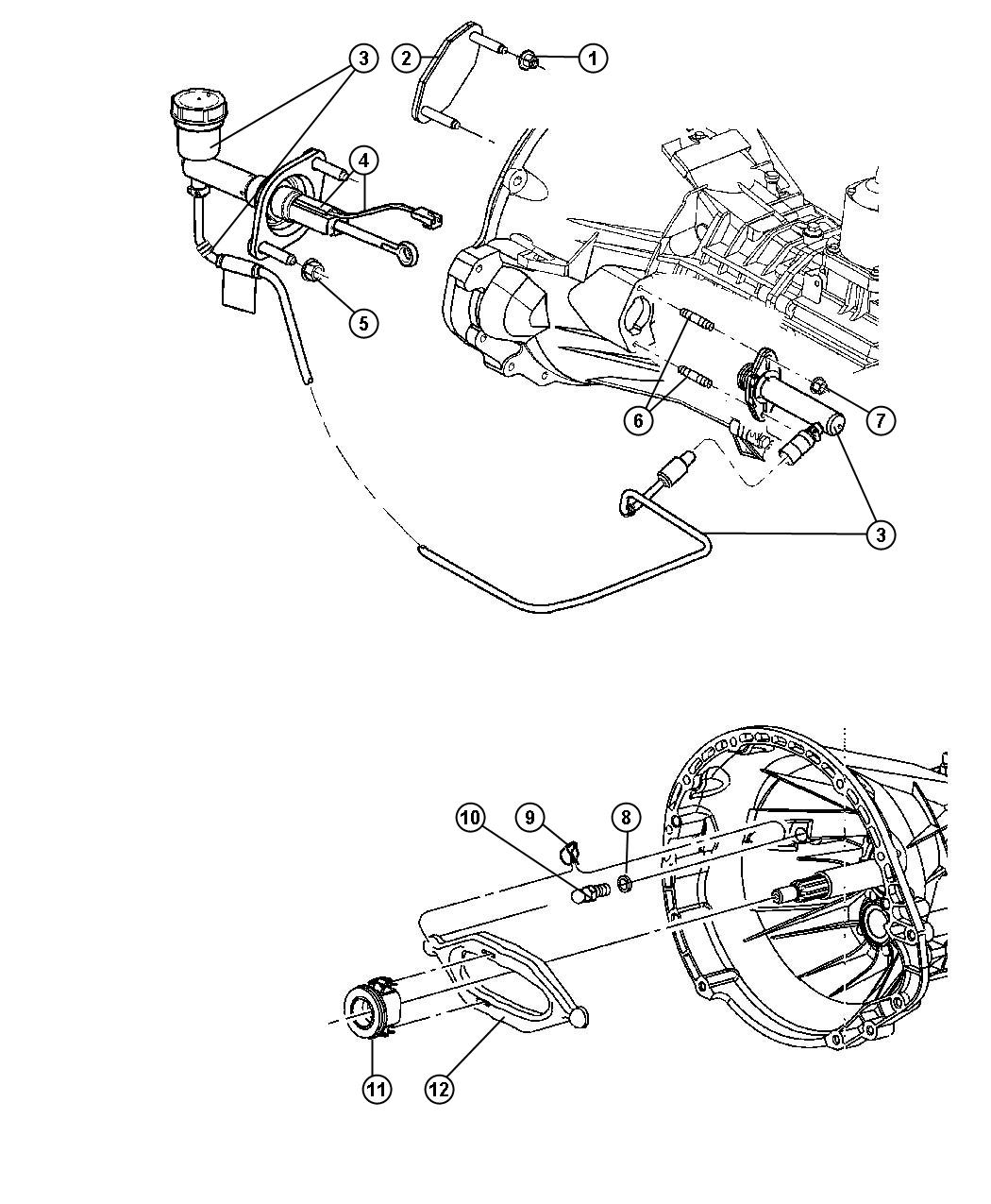 Controls,Hydraulic Clutch Diagram