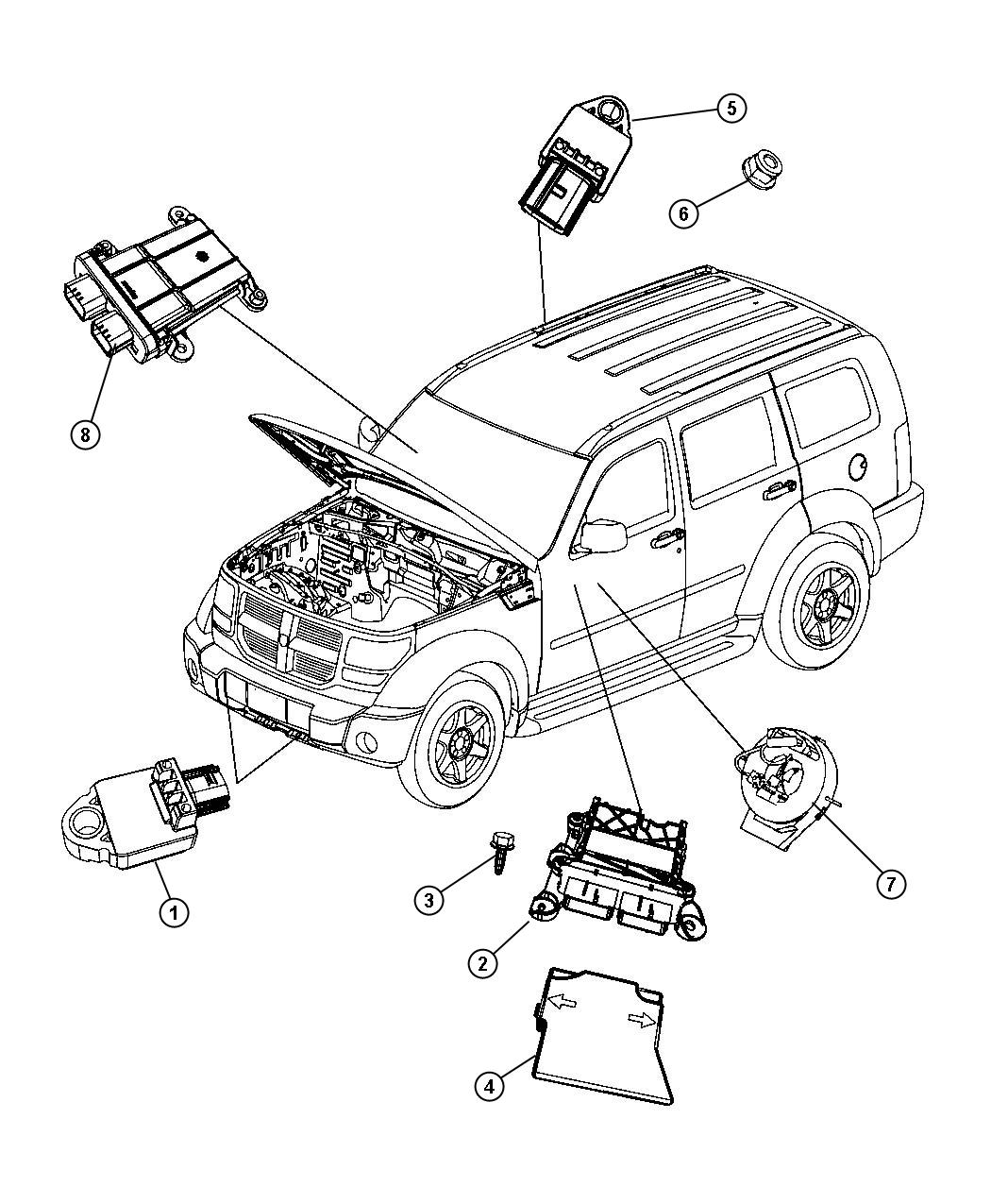 93 Dodge Dakota Serpentine Belt Diagram in addition Jeep Airbag Sensor Location moreover 98 Stratus Sensor Locations together with  on 1998 dodge grand caravan wiring diagram
