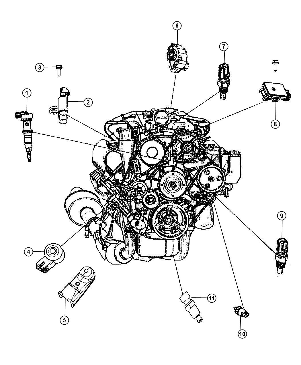 dodge ram 1500 4 7l engine diagram