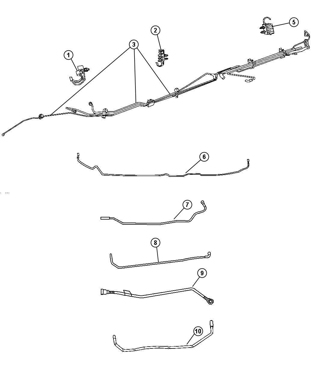 2000 dodge ram 1500 brake line diagram