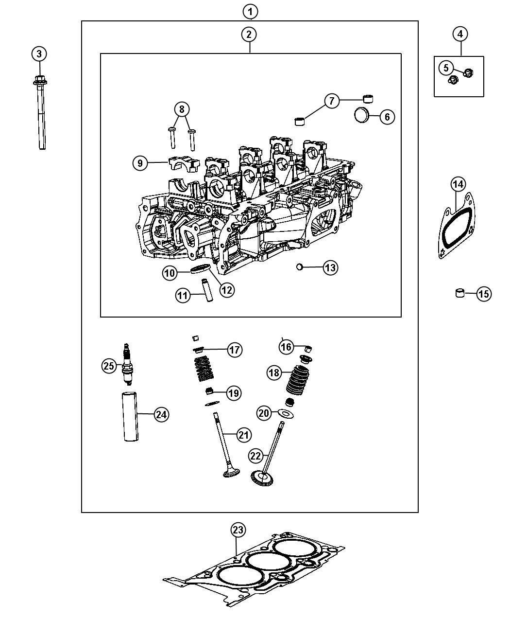 2013 Chrysler 200 Spark Plug