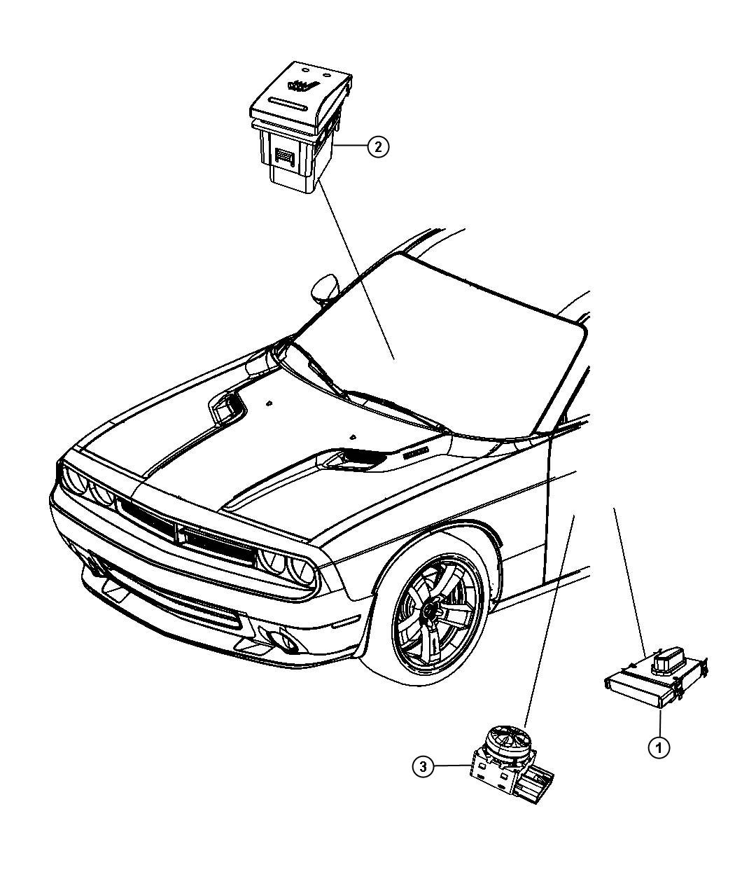 free coloring pages of dodge challenger